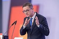 22 NOV 2019, LEIPZIG/GERMANY:<br /> Carsten Linnemann, MdB, CDU, Vorsitzender der Mittelstands- und Wirtschaftsunion der CDU/CSU und Stellvertretender Vorsitzender der CDU/CSU-Bundestagsfraktion. haelt eine Rede, CDU Bundesparteitag, CCL Leipzig<br /> IMAGE: 20191122-01-193<br /> KEYWORDS: Parteitag, party congress