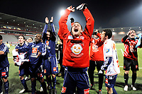 FOOTBALL - FRENCH CUP 2009/2010 - 1/16 FINAL - AS NANCY v STADE PLABENNECOIS - 26/01/2010 - PHOTO GUILLAUME RAMON / DPPI - JOY OF PLABENNEC
