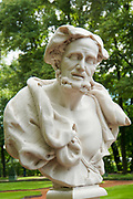 Statue in the Summer Garden, Saint Petersburg, Russia