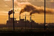 Coal fired power plant near Casper, WY