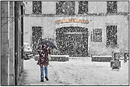 SERIES - DAY TRIPPER- Nantes  photographed by Paul Williams DAY TRIPPER- Beaune in the snow at Christmas