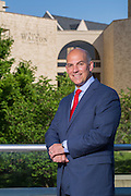 Matthew Waller, interim dean of the Sam M. Walton College of Business, on Tuesday, June 10, 2015, in Fayetteville, Arkansas.<br /> <br /> Photo by Beth Hall