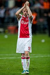 24-05-2017 SWE: Final Europa League AFC Ajax - Manchester United, Stockholm<br /> Finale Europa League tussen Ajax en Manchester United in het Friends Arena te Stockholm / Davy Klaassen(C) #10 of Ajax