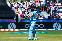 Ben Stokes of England cuts a dejected figure - Mandatory by-line: Robbie Stephenson/JMP - 03/07/2019 - CRICKET - Emirates Riverside - Chester-le-Street, England - England v New Zealand - ICC Cricket World Cup 2019 - Group Stage