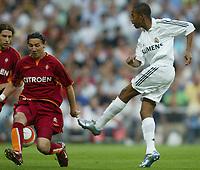 Fotball<br /> La Liga Spania 2005/2006<br /> Real Madrid v Celta Vigo<br /> Foto: Miguelez/Digitalsport<br /> NORWAY ONLY<br /> <br /> Robinho - Real Madrid