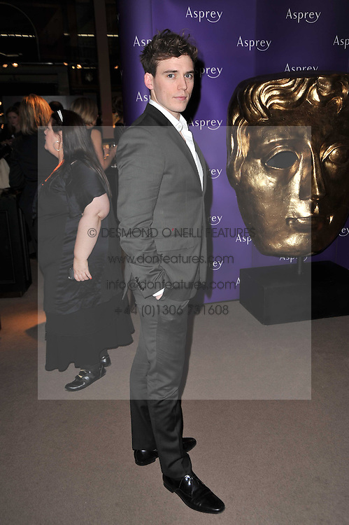 SAM CLAFLIN at the BAFTA Nominees party 2011 held at Asprey, 167 New Bond Street, London on 12th February 2011.
