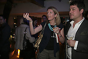 Alice Sykes,  Book launch for ' What Did I Do last night' by Tom Sykes. Century Club. Shaftesbury Ave. London. 16 January 2006. -DO NOT ARCHIVE-© Copyright Photograph by Dafydd Jones. 248 Clapham Rd. London SW9 0PZ. Tel 0207 820 0771. www.dafjones.com.