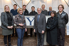 New Science Building Topping Off Ceremony at Yale University | 31 January 2018