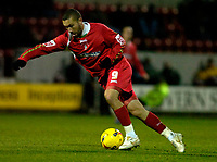 Photo: Alan Crowhurst.<br />Swindon Town v Bury FC. Coca Cola League 2. 25/11/2006. Christian Roberts on the attack for Swindon.