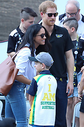 Prince Harry and Meghan Markle made their first public appearance together at the finals of the wheelchair tennis finals at the Invictus games Toronto <br /><br />25 September 2017.<br /><br />Please byline: Vantagenews.com