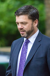 Downing Street, London June 2nd 2015. Stephen Crabb, Secretary of State for Wales arrives at 10 Downing Street to attend the weekly Cabinet Meeting.