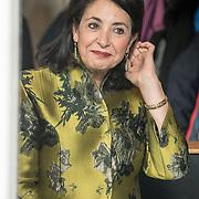 NLD/Amsterdam/20181003 - Koning opent tentoonstelling 1001 vrouwen in de 20ste eeuw, Khadija Arib