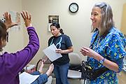 Dr. Leslie Hays at El Centro Family Health in Española New Mexico on Friday, Oct. 14, 2016.