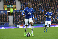 Enner Valencia of Everton in action. Premier league match, Everton v Hull city at Goodison Park in Liverpool, Merseyside on Saturday 18th March 2017.<br /> pic by Chris Stading, Andrew Orchard sports photography.