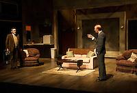 The Business of Murder dress rehearsal at Winnipesaukee Playhouse.   Karen Bobotas for the Laconia Daily Sun