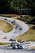 September 30-October 1, 2011: Petit Le Mans at Road Atlanta. 2 Tom Kristensen, Allan McNish, Dindo Capello, Audi R18, Audi Sport Team Joest, 10 Nicolas Lapierre, Nic Minassian, Marc Gene, Peugeot 908, Team Oreca Matmut