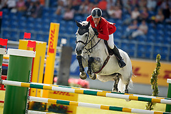 Beerbaum Ludger, (GER), Chiara<br /> Team completion and 2nd individual qualifier<br /> FEI European Championships - Aachen 2015<br /> © Hippo Foto - Dirk Caremans<br /> 20/08/15
