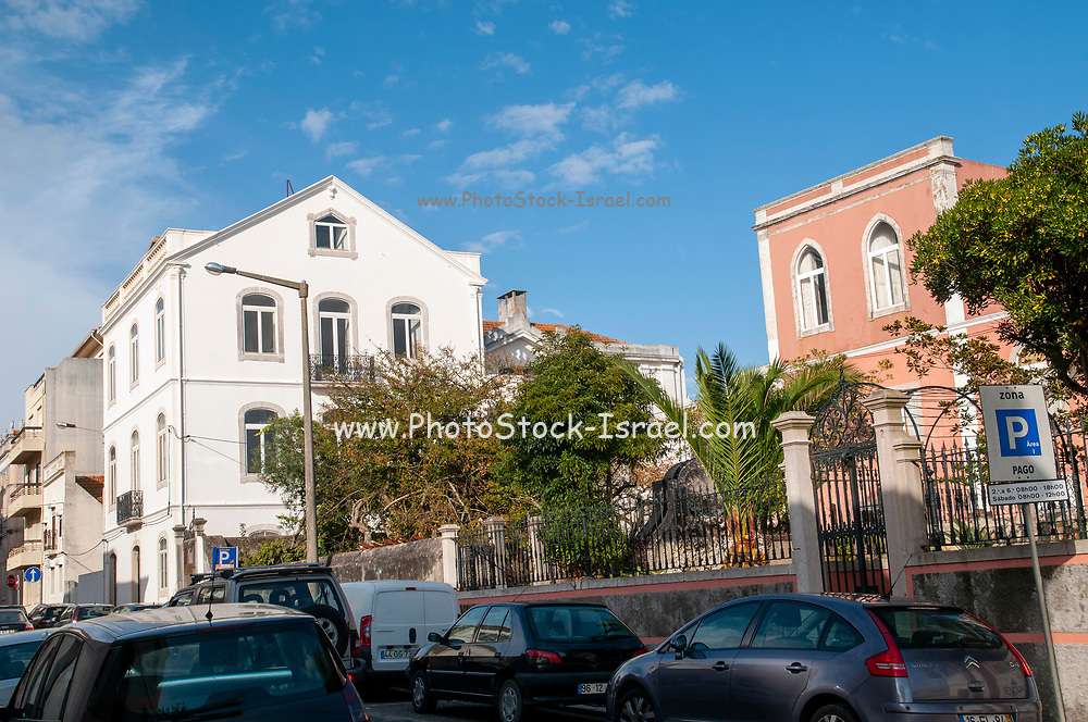 Renovated building facing the waterfront, Figueira da Foz, Portugal