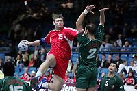 Håndball, Stavanger, 14/01-04, Elfag CUP,<br /> Rusland - Algerie,<br /> Alexi Rostvortsev (RUS, 15),  <br /> Foto: Sigbjørn Andreas Hofsmo, Digitalsport