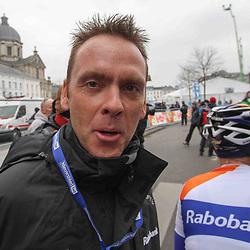 Sportfoto archief 2013<br /> Omloop Het Nieuwsblad women Rabobank-Liv-Giant ploegleider Koos Moerenhout