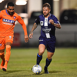 BRISBANE, AUSTRALIA - JULY 25:  during the FFA Cup Round of 32 match between Lions FC and Olympic FC on July 25, 2018 in Brisbane, Australia. (Photo by Olympic FC / Patrick Kearney)