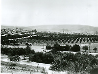 1911 Looking east from Olive Hill, now Barnsdall Park