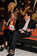 JESSICA ZAMBELETTI; LEOPOLDO ZAMBELETTI, Book party for Janine di Giovanni's Ghosts by Daylight. Blake's Hotel. South Kensington. London. 12 July 2011. <br /> <br />  , -DO NOT ARCHIVE-© Copyright Photograph by Dafydd Jones. 248 Clapham Rd. London SW9 0PZ. Tel 0207 820 0771. www.dafjones.com.