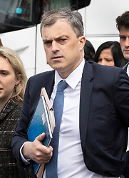 © Licensed to London News Pictures. 22/05/2019. London, UK. Conservative Party Chief Whip Julian Smith walks to Parliament ahead of Prime Minister's Questions. Photo credit: Peter Macdiarmid/LNP