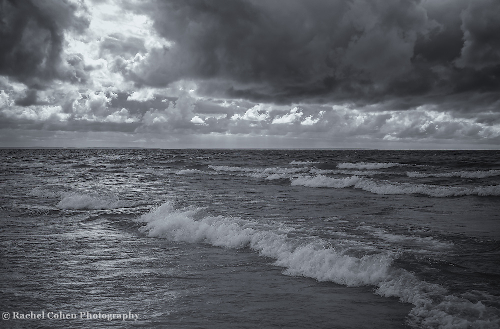 """""""Turbulent Times""""<br /> <br /> Turbulent waters, and sky on the Great Lakes."""