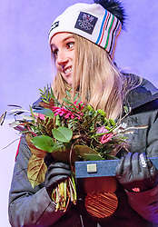 27.02.2018, Salzburg, AUT, PyeongChang 2018, ÖOC Medaillenfeier, im Bild Anna Gasser // during a ÖOC medal celebration Party after the Olympic Winter Games Pyeongchang 2018 in Salzburg, Austria on 2018/02/27. EXPA Pictures © 2018, PhotoCredit: EXPA/ JFK