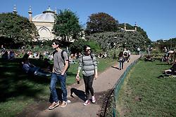 UK ENGLAND BRIGHTON 8SEP16 - Pavilion Gardens in  Brighton town centre.<br /> <br /> jre/Photo by Jiri Rezac<br /> <br /> © Jiri Rezac 2016
