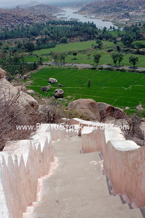 India, Karnataka state, Hampi the ruins of Vijayanagara