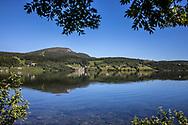 VILDMARKSVÄGEN JULI 2020<br /> Vy över Stora Blåsjön under helgens tur efter Vildmarksvägen.<br /> Foto: Per Danielsson/Projekt.P