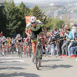 22-04-2015: Wielrennen: Waalse Pijl vrouwen: Huy  <br /> Huy (BEL) Cycling: The last European spring UCI Worldcup womenrace was the Fleche Walonne. A race in the Ardennes with two times the Mur de Huy as climb.<br /> Janneke Ensing