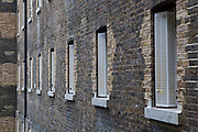 The cell window of E wing. HMP Wandsworth, London, United Kingdom