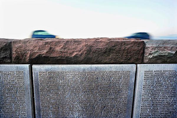 Frankrijk, Verdun, 19-10-2010Monumenten van de eerste wereldoorlog. Slag bij Verdun. Oorlogskerkof van duitse soldaten.Foto: Flip Franssen/Hollandse Hoogte