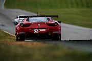August 23, 2015: IMSA GT Race: Virginia International Raceway  #62 Kaffer, Fisichella, ITA Risi Ferrari 458 Italia, GTLM