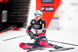 January 6, 2018 - Val Di Fiemme, ITALY - 180106 Heidi Weng of Norway after women's 10km mass start classic technique during Tour de Ski on January 6, 2018 in Val di Fiemme..Photo: Jon Olav Nesvold / BILDBYRN / kod JE / 160122 (Credit Image: © Jon Olav Nesvold/Bildbyran via ZUMA Wire)