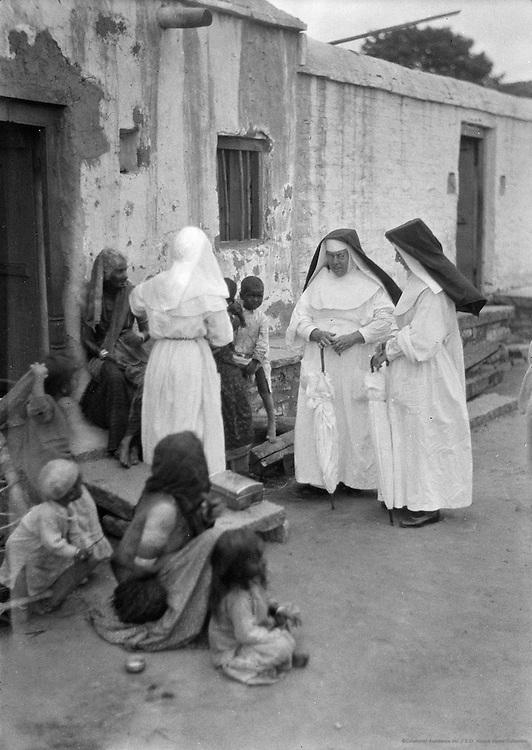 Christian Nuns, Bellary, India, 1929
