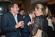 JOSH ANDREWS; ELIZABETH MAJOR, The press night performance of the Menier Chocolate Factory's 'Merrily We Roll Along', following its transfer to the Harold Pinter Theatre, After-show party at Grace Restaurant, Gt. Windmill St. London. 1 May 2013.