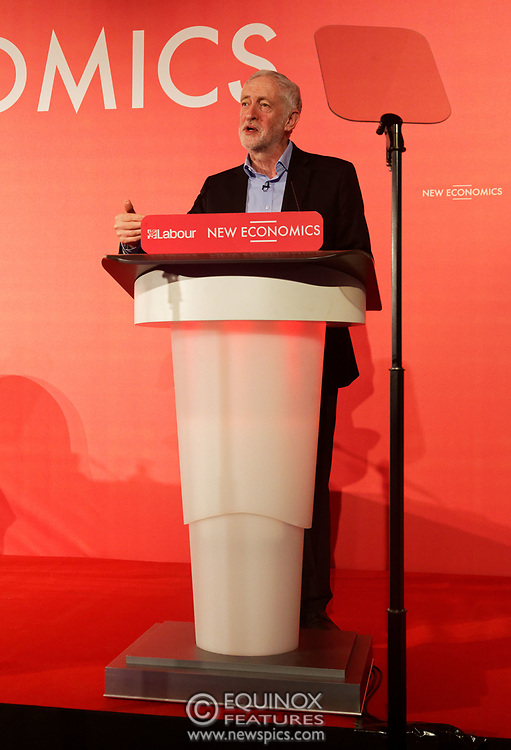 London, United Kingdom - 10 February 2018<br /> Leader of the Labour Party Jeremy Corbyn, speaking at the Labour Party's Alternative Models of Ownership Conference where he spoke about new 21st century forms of democratic ownership of industries.<br /> www.newspics.com/#!/contact<br /> (photo by: EQUINOXFEATURES.COM)<br /> Picture Data:<br /> Photographer: Equinox Features<br /> Copyright: ©2018 Equinox Licensing Ltd. +448700 780000<br /> Contact: Equinox Features<br /> Date Taken: 20180210<br /> Time Taken: 15531512