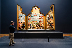 Triptych with the Last Judgement at the Rijksmuseum in Amsterdam, The Netherlands