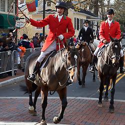 Middleburg Hunt Parade at Christmas