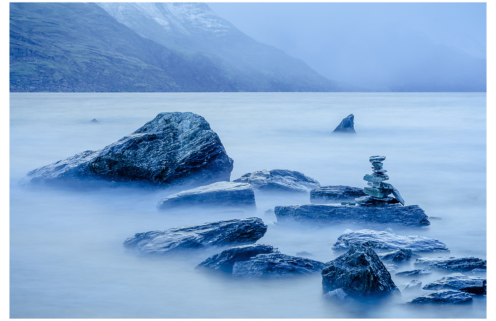 Lake Wakatipu, Queenstown, Otago.