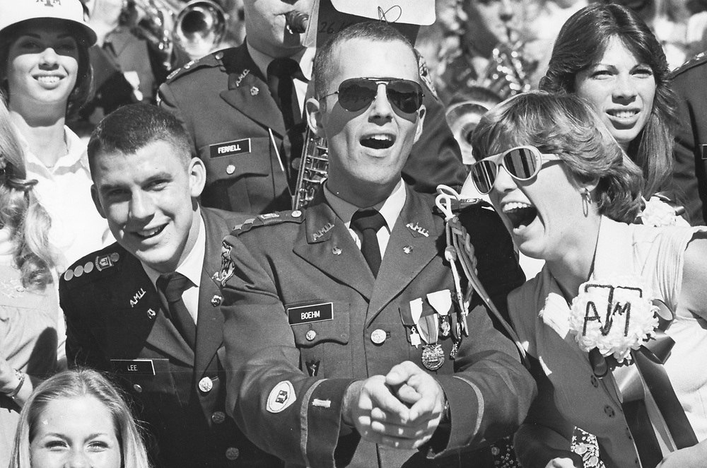 ©1978 College football game, Texas A&M University College Station.