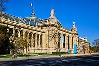 France, Paris (75), Petit Palais durant le confinement du Covid 19 // France, Paris, Petit Palais during the containment of Covid 19