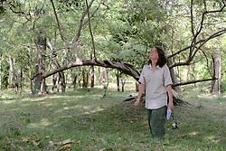 Rachel Hughes Observing Hanuman Langurs