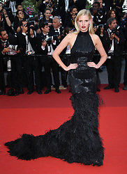 Lara Stone attending the premiere of The Biguiled held at The Grand Theatre during the 70th Cannes Film Festival in France. Photo Credit should read: Doug Peters/EMPICS Entertainment