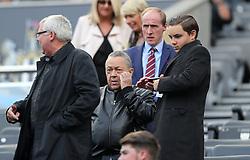 West Ham United co-owner David Sullivan during the Premier League match at St James' Park, Newcastle.
