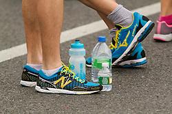 ING New York CIty Marathon: pre race stretching